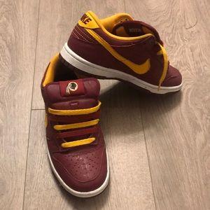 Redskins Nike ID*d sneakers